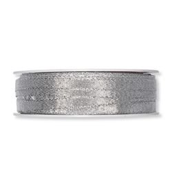 Zilver lint 6mm - per meter