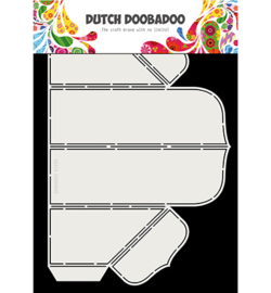 470.713.055 Box Art stencil - Dutch Doobadoo