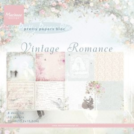 PK9104 Paperpad Vintage Romance  - Marianne Design