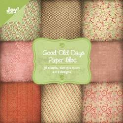 6011/0067 Paperpad 15x15cm a 36 vel - Joy Crafts