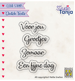 DTCS026 Tekststempel NL - Nellie Snellen
