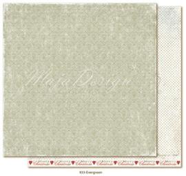 933 Scrappapier dubbelzijdig - Joyous Winterdays - Maja Design