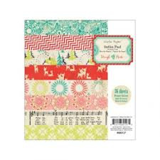 680127 Paperpad 15x15cm Sleigh Ride - Crate Paper