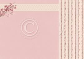 PD8806 Scrappapier dubbelzijdig - My Dearest Sophia - Pion Design