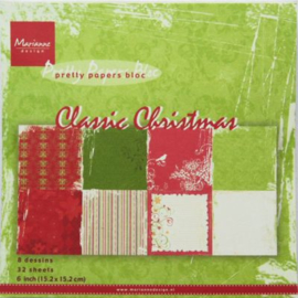 PK9113 Paperpad Classic Christmas - Marianne Design