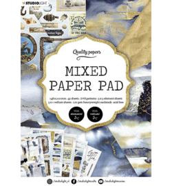 A5MPPSL159 - SL Mixed Paper Pad Pattern paper Essentials nr.159 - Studio Light