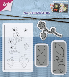 6004-0019 Stempel met mal - Joy Crafts