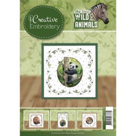 CB10001  Create Embroidery - Wild Animals - Amy Design