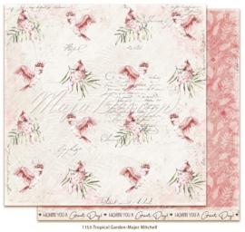 1153 Scrappapier dubbelzijdig -  Tropicial Garden - Maja Design