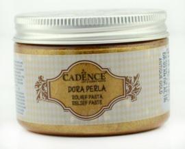 Dora Perla Relief Pasta Antique Gold 150ml - Cadence  - PAKKETPOST !!!