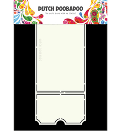 470.713.667 Dutch Card Art A4 Ticket - Dutch Doobadoo