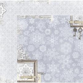 20901834 Scrappapier dubbelzijdig - Winter Wishes - Bo Bunny