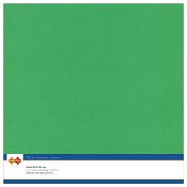 22 Groen - Linnen Karton 30,5 x 30,5cm - 10 stuks - 200 grams - Card Deco - PAKKETPOST!!