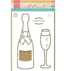 PS8051 Stencil Champagne - Marianne Design