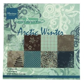 PK9115 Paperpad - Arctic Winter - Marianne Design