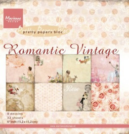 PK9093 Paperpad - Romantic Vintage - Marianne Design