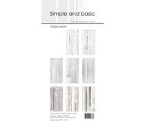 SBP911 Slim Paperpack 21x10cm - 24 stuks - Simple and Basic
