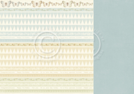 PD8410 Scrappapier dubbelzijdig - The Songbirds Secrets - Pion Design
