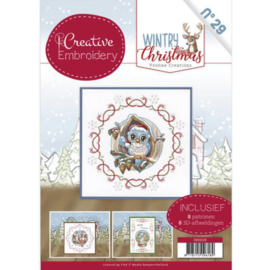 CB10029 Creative Embrodery  - Wintery Christmas - Yvonne Creations