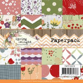PMPP10026 Paperpad - Spring Delight - Marieke Design