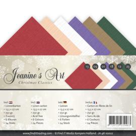 JA4K10002 Karton 13.5 x 27cm - Christmas Classic - Jenine's Art
