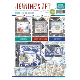 CDM1803 Hobby Magazine nr. 3- Beach Fun - Jeanine's Art