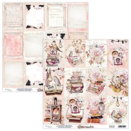 Scrappapier dubbelzijdig 06 - Dear Diary - Mintay