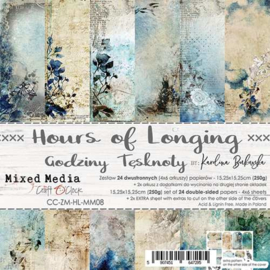 Hours of Longing - Paperpad 15.2 x 15.2 cm - Craft O' Clock