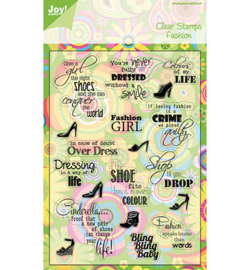 6410-0065 Clearstempel - Joy Crafts
