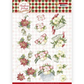 CD11318 3D vel A4 - Warm Christmas Feelings - Marieke Design