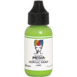 MDQ54030 Acrylic Paint 29ml - Lime - Dina Wakley Media