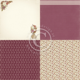 PD9704 Scrappapier - Summer Falls into Autumn - Pion Design