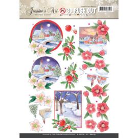 SB10173 Stansvel A4 - Christmas Classic - Jenine's Art