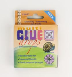 Glue Drops 4mm - 110 stuks