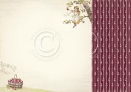 PD9606 Scrappapier dubbelzijdig - Summer Falls into Autumn - Pion Design