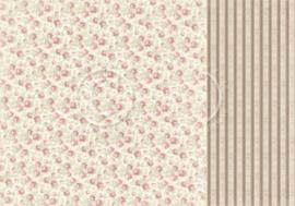 PD32006 Scrappapier Dubbelzijdig - Cherry Blossom Lane - Pion Design