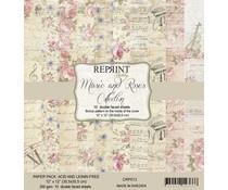 CRP013 Music and Roses 12x12 inch Paperpack - Reprint - PAKKETPOST!!