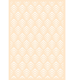 6002-0872 Polybesa stencil - Joy Crafts