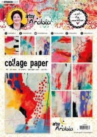 CPBM07 Collage Papers A4 20 stuks - Art by Marlene
