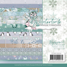 YCPP10034 Paperpad - Winter Time - Yvonne Creations