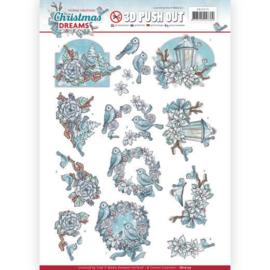 SB10275 Uitdrukvel A4  - Christmas Dreams - Yvonne Creations