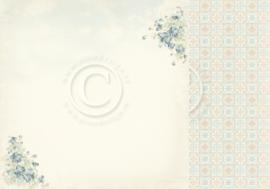 PD32002 Scrappapier Dubbelzijdig - Cherry Blossom Lane - Pion Design