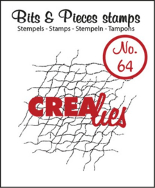 Bits & Pieces Clearstempel no. 64 - Crealies