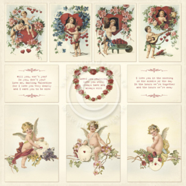 PD1609 Scrappapier - To My Valantine - Pion Design