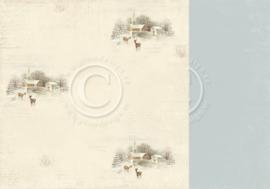 PD5105 Scrappapier Dubbelzijdig - Days of Winter - Pion Design