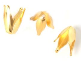 Tulpen kapje - 10 stuks - Goud