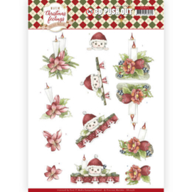 SB10376 Uitdrukvel A4 - Warm Christmas Feelings - Marieke Design