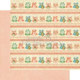 4501088 Scrappapier dubbelzijdig - Precious Memories Collection - Graphic45