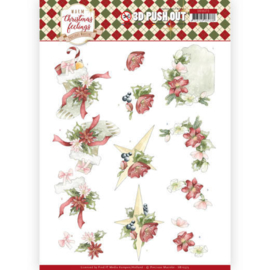 SB10373 Uitdrukvel A4 - Warm Christmas Feelings - Marieke Design