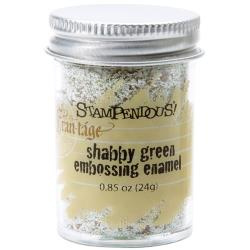 Frantage Shabby Green Embossing Enamel - Stampendous